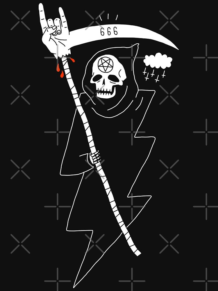 Angel of Death Metal by obinsun