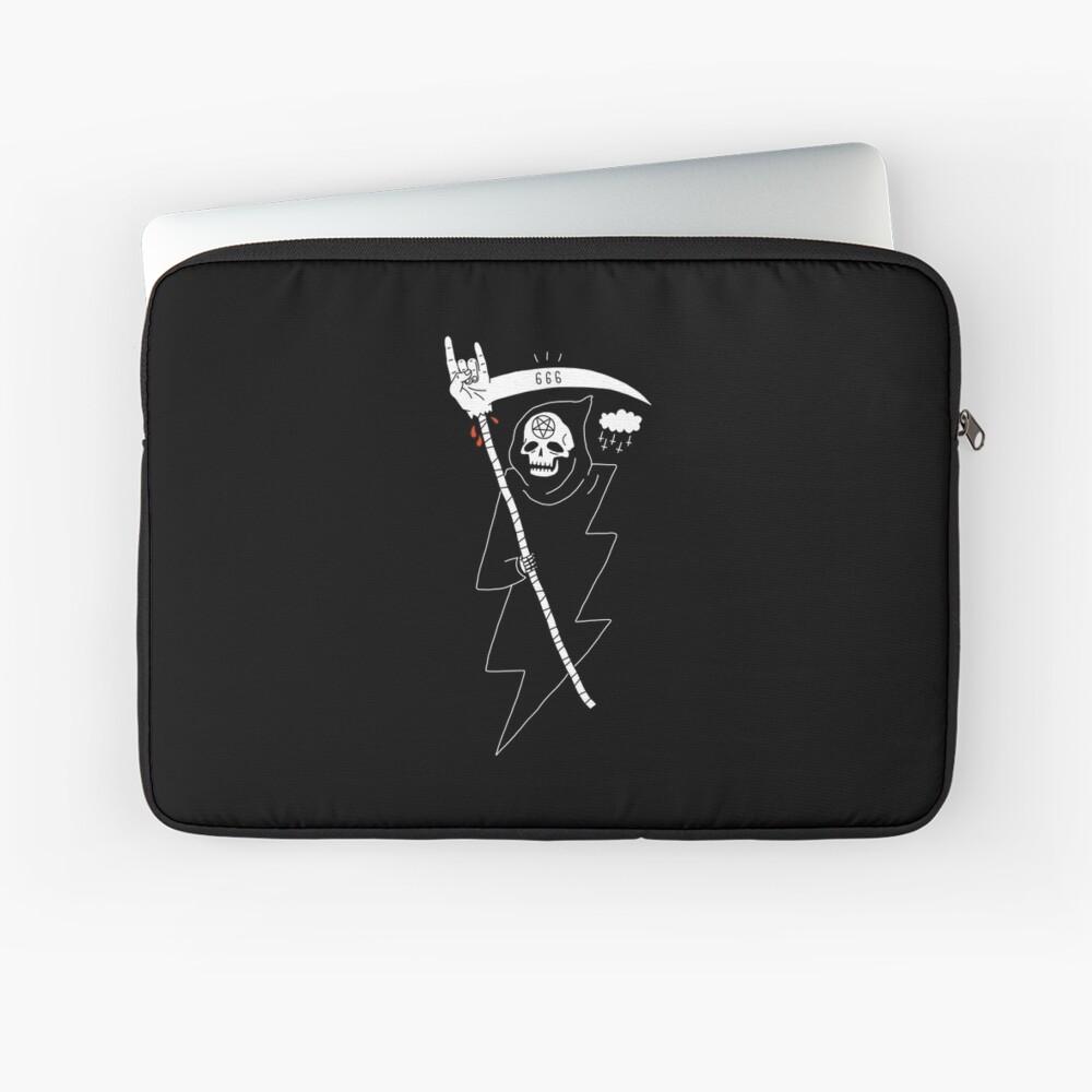 Angel of Death Metal Laptop Sleeve