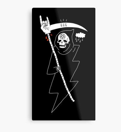 Angel of Death Metal Metal Print