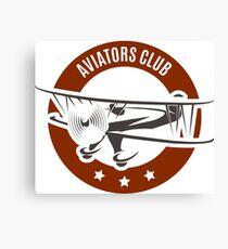 Aviation Emblem Canvas Print