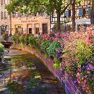 Summer in Colmar, Alsace, France by Maria Draper