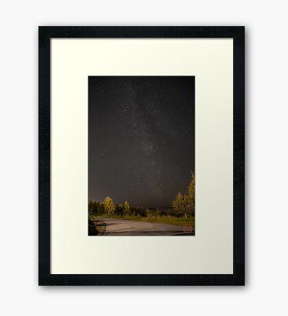 Starry Night - Milky Way Framed Print
