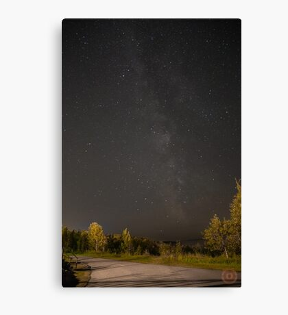 Starry Night - Milky Way Canvas Print