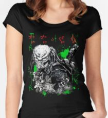 the predator Women's Fitted Scoop T-Shirt