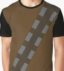 Minimalist Chewbacca Graphic T-Shirt
