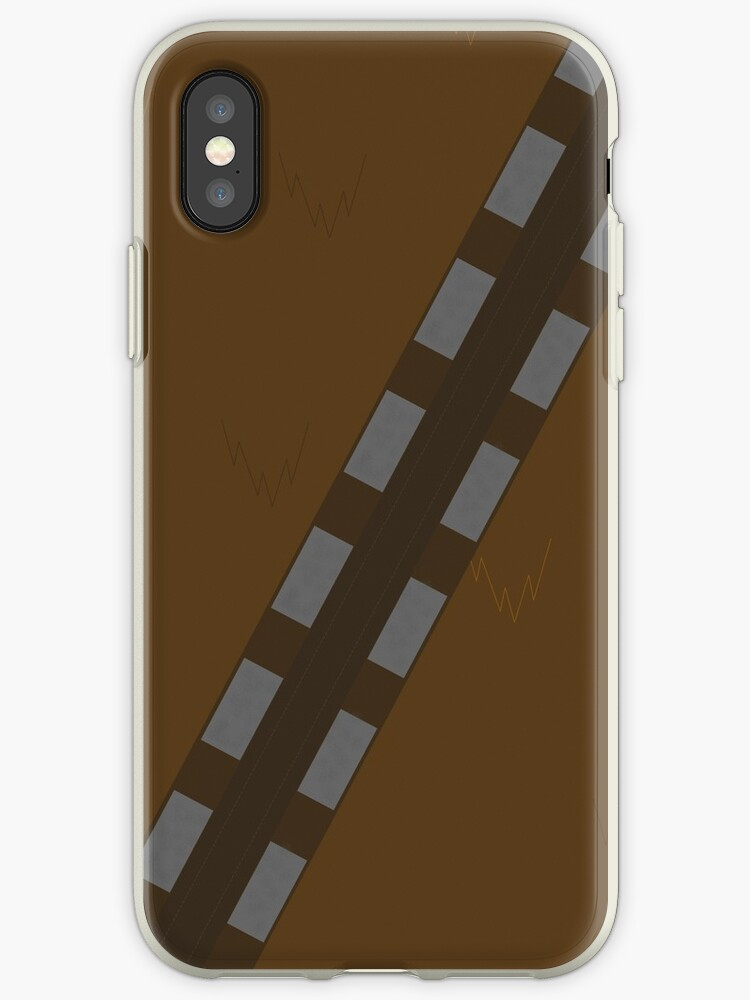 on sale 38053 ee50d 'Minimalist Chewbacca' iPhone Case by Dookx