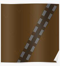 Minimalist Chewbacca Poster