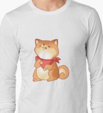 Rude Shiba Dog 2 - Food Consumed Long Sleeve T-Shirt