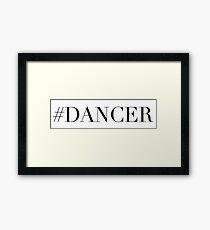 Dance Dancer Framed Print