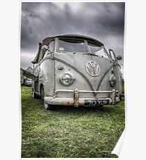 VW Split Screen Pick Up Poster
