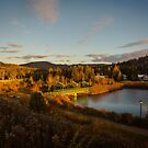 Fall Sunset in Quebec by jpvalery