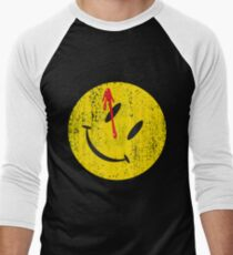 Watchmen Smiley Baseball ¾ Sleeve T-Shirt