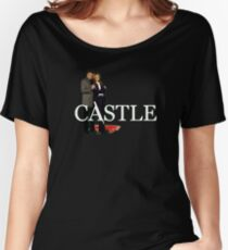 Castle and Beckett Women's Relaxed Fit T-Shirt