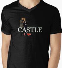 Castle and Beckett Men's V-Neck T-Shirt