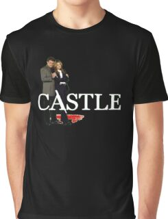 Castle and Beckett Graphic T-Shirt
