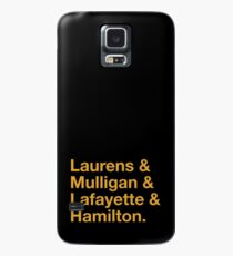 Hamilton Names Case/Skin for Samsung Galaxy