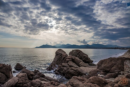 Misty Horizons French Riviera by jpvalery