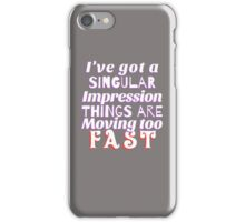 The Last Five Years iPhone Case/Skin