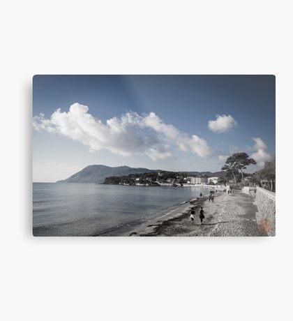 Beach Landscape Southern France Metal Print