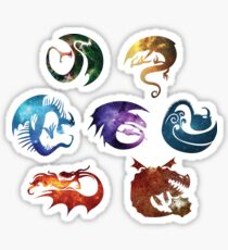 Dragon Classes - Galaxy Sticker