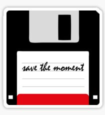 save the moment Sticker