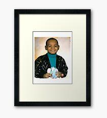 LeBron James (Kid) Framed Print