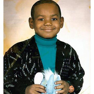 LeBron James (Kid) by iixwyed