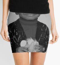 LeBron James (Kid BW) Mini Skirt