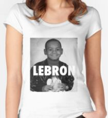 Lebron James (LeBron) Women's Fitted Scoop T-Shirt