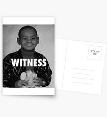 LeBron James (Witness) Postcards