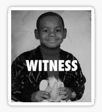 LeBron James (Witness) Sticker