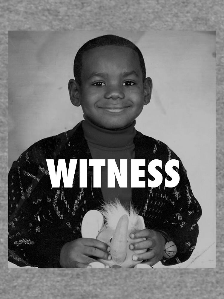 LeBron James (Witness) by iixwyed