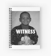 LeBron James (Witness) Spiral Notebook