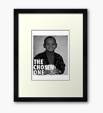 LeBron James (The Chosen One) Framed Print