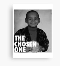 LeBron James (The Chosen One) Canvas Print