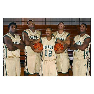 LeBron James (High School Team) by iixwyed