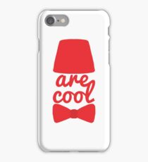 Bowties/Fezzes are Cool iPhone Case/Skin