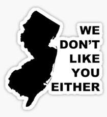 NJ Zusätzlichkeit Sticker