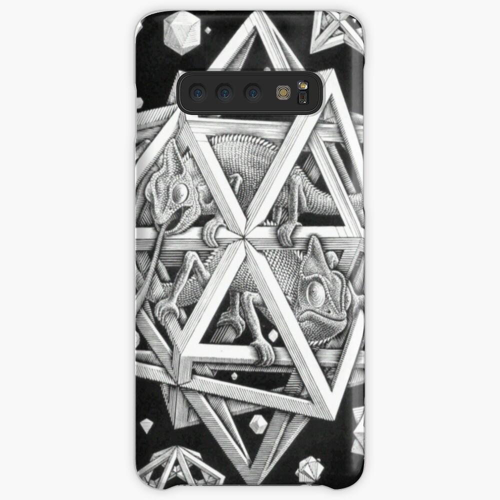 MC Escher Halbton Hülle & Klebefolie für Samsung Galaxy