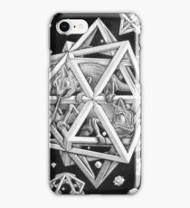MC Escher Halftone iPhone Case/Skin