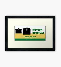 Potion Festival, Pokemon Alternate Framed Print