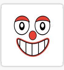 Happy Clown Emoji Drawing Sticker