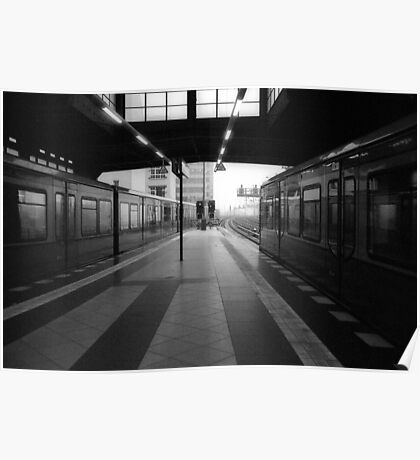 S-Bahnhof Alexanderplatz Poster
