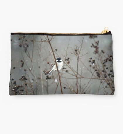 Chilly Chick-a-Dee Studio Pouch