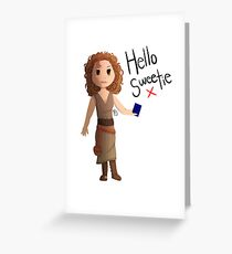 Hello Sweetie River Song Greeting Card