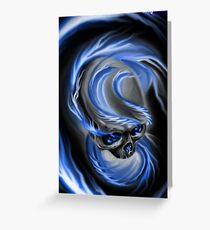 Electrified Mysticism Greeting Card