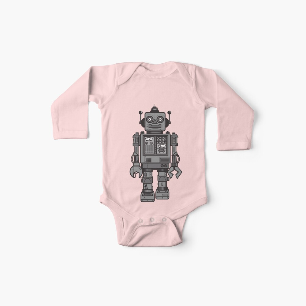 Weinlese-Roboter Baby Body