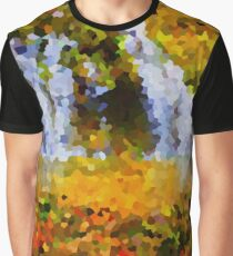 Forest & Waterfall - Crystallized Graphic T-Shirt