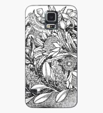Botanical Echidna Case/Skin for Samsung Galaxy