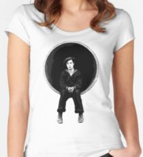 The Navigator - Buster Keaton Women's Fitted Scoop T-Shirt